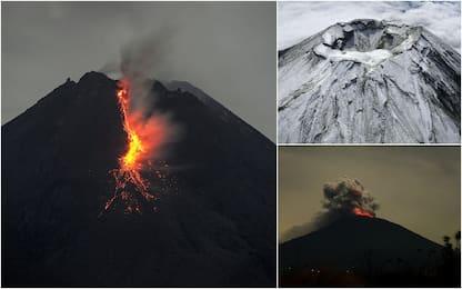 Dal monte Aso al Merapi, i vulcani più attivi nel mondo. FOTO