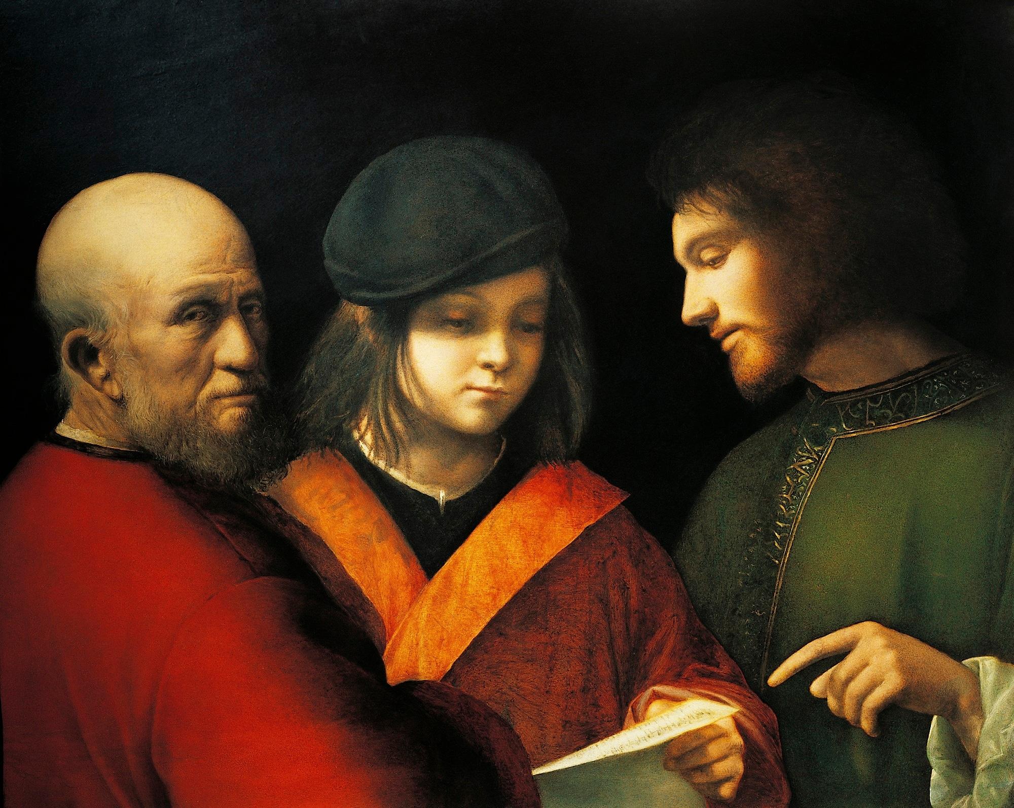 Giorgione, Le tre età dell'uomo