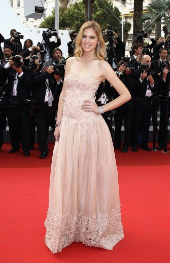 "CANNES, FRANCE - MAY 13:  Chiara Ferragni attends the ""Habemus Papam"" premiere at the Palais des Festivals during the 64th Cannes Film Festival on May 13, 2011 in Cannes, France.  (Photo by Andreas Rentz/Getty Images)"