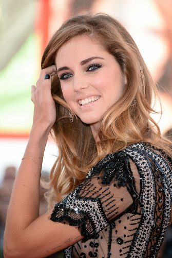 VENICE, ITALY - AUGUST 28:  Chiara Ferragni attends 'Gravity' premiere and Opening Ceremony during The 70th Venice International Film Festival at Sala Grande on August 28, 2013 in Venice, Italy.  (Photo by Venturelli/WireImage)