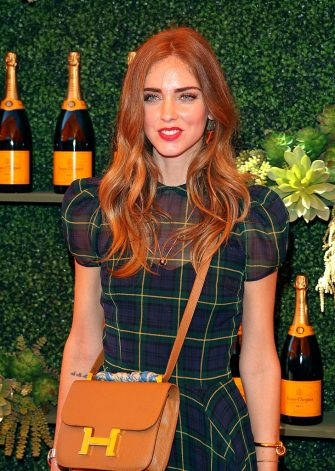 PACIFIC PALISADES, CA - OCTOBER 11:  Chiara Ferragni attend the Fifth-Annual Veuve Clicquot Polo Classic at Will Rogers State Historic Park on October 11, 2014 in Pacific Palisades, California. (Photo by JB Lacroix/WireImage)