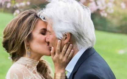 Richard Gere, pubblicate le foto del matrimonio con Alejandra Silva