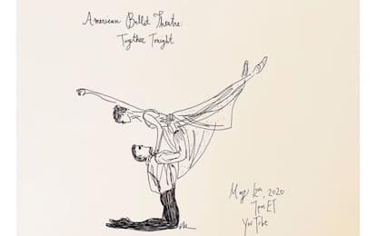 Danza, l'American Ballet Theatre festeggia 80 anni su YouTube