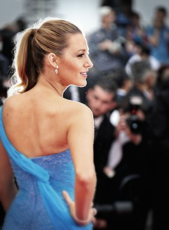 "CANNES, FRANCE - MAY 14:  Blake Lively attends the ""The BFG (Le Bon Gros Geant - Le BGG)"" premiere during the 69th annual Cannes Film Festival at the Palais des Festivals on May 14, 2016 in Cannes, France.  (Photo by Mike Marsland/Mike Marsland/WireImage)"