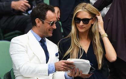 Jude Law di nuovo papà: la moglie Philippa è in dolce attesa