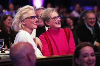 BEVERLY HILLS, CA - FEBRUARY 21:  Actor Mamie Gummer (L) and honoree Meryl Streep attend The 19th CDGA (Costume Designers Guild Awards) with Presenting Sponsor LACOSTE at The Beverly Hilton Hotel on February 21, 2017 in Beverly Hills, California.  (Photo by Christopher Polk/Getty Images)