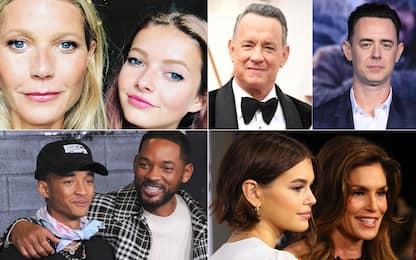 25 figli di personaggi famosi uguali ai loro genitori. FOTO