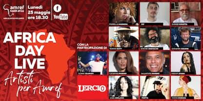 Africa Day Live, gli artisti sul palco virtuale per Amref
