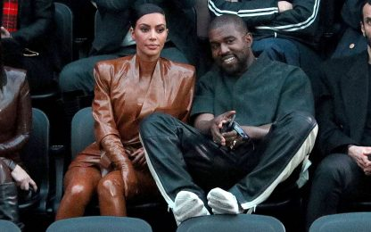 Kim Kardashian smentisce la crisi con Kanye West
