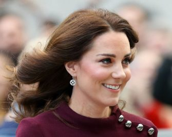 LONDON, UNITED KINGDOM - NOVEMBER 08: (EMBARGOED FOR PUBLICATION IN UK NEWSPAPERS UNTIL 48 HOURS AFTER CREATE DATE AND TIME) Catherine, Duchess of Cambridge attends the annual Place2Be School Leaders Forum at UBS London on November 8, 2017 in London, England.  The Duchess of Cambridge is Patron of Place2Be, a National Children's mental health charity. (Photo by Max Mumby/Indigo/Getty Images)