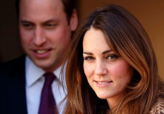 LONDON, UNITED KINGDOM - NOVEMBER 19: (EMBARGOED FOR PUBLICATION IN UK NEWSPAPERS UNTIL 48 HOURS AFTER CREATE DATE AND TIME) Prince William, Duke of Cambridge and Catherine, Duchess of Cambridge leave after visiting Only Connect and ex-offenders projects on November 19, 2013 in London, England. (Photo by Max Mumby/Indigo/Getty Images)