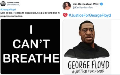 George Floyd, sui social le celebrità denunciano la sua morte. FOTO