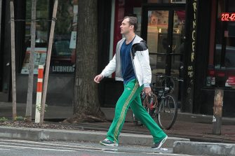 NEW YORK, NY - MAY 02: Jude Law is seen on May 02, 2012 in New York City.  (Photo by Ignat/Bauer-Griffin/GC Images)