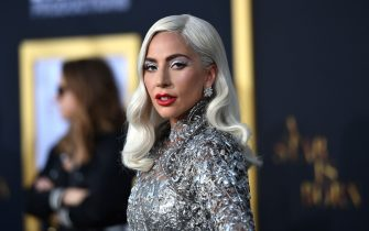 LOS ANGELES, CALIFORNIA - SEPTEMBER 24: Lady Gaga arrives at the Premiere Of Warner Bros. Pictures' 'A Star Is Born' at The Shrine Auditorium on September 24, 2018 in Los Angeles, California. (Photo by Neilson Barnard/Getty Images)