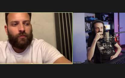 Rovazzi incontra Alessandro Borghi su TwitchTv, una serata da Diavoli