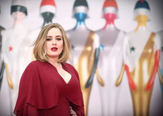 LONDON, ENGLAND - FEBRUARY 24: (EDITORIAL USE ONLY)  Adele attends the BRIT Awards 2016 at The O2 Arena on February 24, 2016 in London, England.  (Photo by Mike Marsland/WireImage)