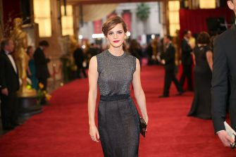 HOLLYWOOD, CA - MARCH 02:  Actress Emma Watson attends the Oscars held at Hollywood & Highland Center on March 2, 2014 in Hollywood, California.  (Photo by Christopher Polk/Getty Images)