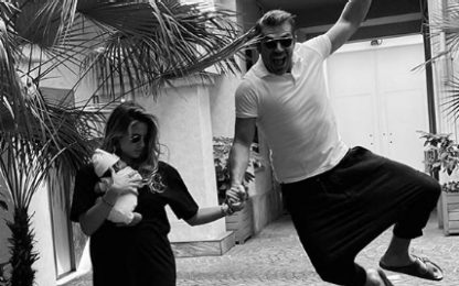Luca Argentero e Cristina Marino presentano la figlia: la prima foto