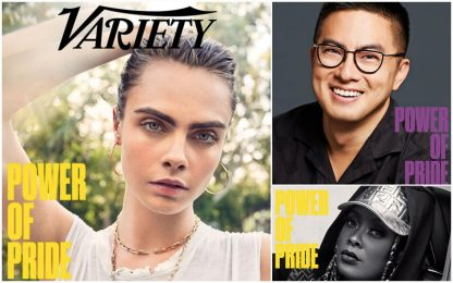 """Variety celebra il Pride, Cara Delevingne: """"Sarò sempre pansessuale"""""""