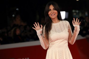 ROME, ITALY - NOVEMBER 04:  Sabrina Ferilli walks a red carpet for 'The Place' during the 12th Rome Film Fest at Auditorium Parco Della Musica on November 4, 2017 in Rome, Italy.  (Photo by Elisabetta A. Villa/WireImage)