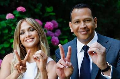 Jennifer Lopez, la challenge con Alex Rodriguez