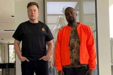 Kanye West posa con Elon Musk (e diverte Twitter)