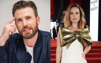 Chris Evans e Lily James beccati insieme: è nata una nuova coppia?
