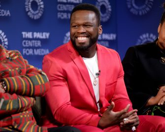 """NEW YORK, NEW YORK - FEBRUARY 07: Curtis """"50 Cent"""" Jackson speaks onstage during the Power Series Finale Episode Screening at Paley Center on February 07, 2020 in New York City. (Photo by Brad Barket/Getty Images for STARZ)"""