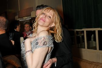LONDON, ENGLAND - FEBRUARY 02:   Courtney Love poses the Netflix BAFTA after party at Chiltern Firehouse on February 2, 2020 in London, England. (Photo by David M. Benett/Dave Benett/Getty Images for Netflix)