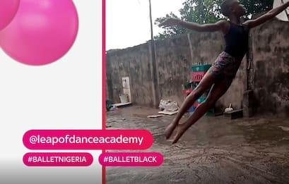 #Hashtagart, bimbo danza nel fango: dal video al sogno che si avvera