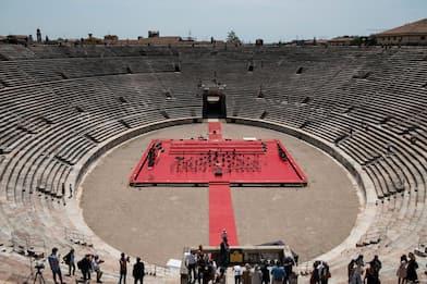 Verona, presentato in Arena il Festival della Bellezza