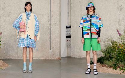 Milano Digital Fashion Week, la sfilata di Msgm