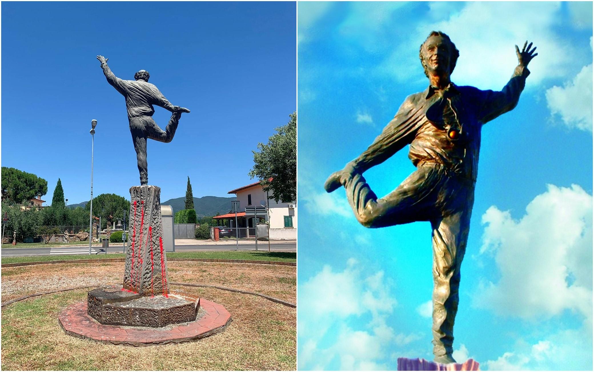 Statua Roberto Benigni