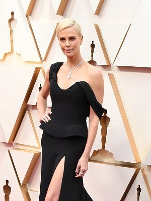 HOLLYWOOD, CALIFORNIA - FEBRUARY 09: Charlize Theron attends the 92nd Annual Academy Awards at Hollywood and Highland on February 09, 2020 in Hollywood, California. (Photo by Steve Granitz/WireImage)