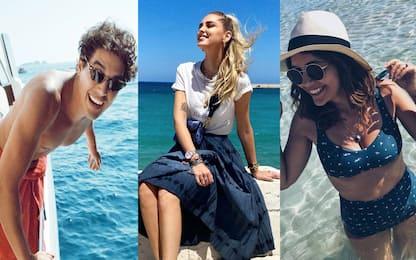 Vip in Puglia, da Chiara Ferragni ai Beckham: tutte le star in vacanza