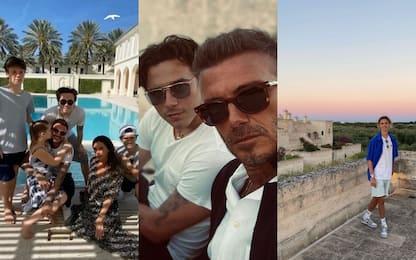 David e Victoria Beckham in Puglia: hanno affittato una villa lussuosa