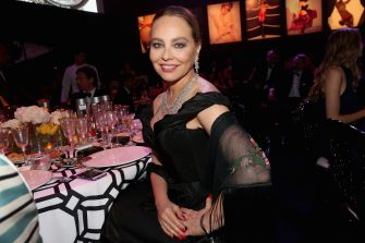 CAP D'ANTIBES, FRANCE - MAY 21: Actress Ornella Muti attends amfAR's 22nd Cinema Against AIDS Gala, Presented By Bold Films And Harry Winston at Hotel du Cap-Eden-Roc on May 21, 2015 in Cap d'Antibes, France.  (Photo by Gisela Schober/WireImage)