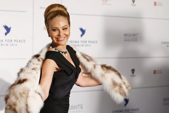 BERLIN, GERMANY - FEBRUARY 10:  Ornella Muti arrives for the Cinema For Peace 2014 - Gala at Konzerthaus Am Gendarmenmarkt on February 10, 2014 in Berlin, Germany.  (Photo by Andreas Rentz/Getty Images)