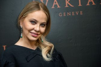 CANNES, FRANCE - MAY 22:  Ornella Muti visits the Avakian suite wearing Avakian jewellery  during the 66th Cannes Film Festival on May 22, 2013 in Cannes, France.  (Photo by Samir Hussein/Getty Images for Avakian)