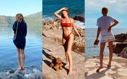 """Alessia Marcuzzi su Instagram: """"Un difetto può rendervi unici"""". FOTO"""
