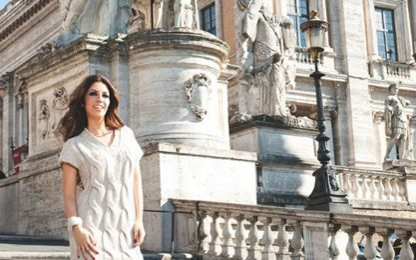 Moda, Laura Biagiotti sfila a Roma, a settembre in piazza Campidoglio