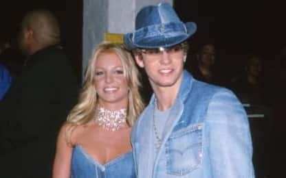 Britney Spears ricorda il look sfoggiato con Justin Timberlake