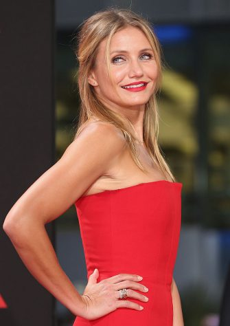 BERLIN, GERMANY - SEPTEMBER 05:  Cameron Diaz arrives for the German premiere of the film 'Sex Tape' at CineStar on September 5, 2014 in Berlin, Germany.  (Photo by Sean Gallup/Getty Images for Sony Pictures)