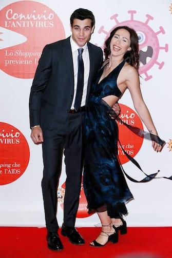 Michelle Hunziker and Tomaso Trussardi in love at Convivio 2018 event in Milan