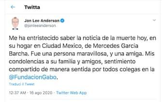 Morta Mercedes Barcha, la vedova di Garcia Marquez