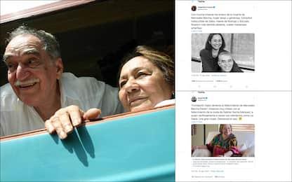 Morta Mercedes Barcha, vedova di García Márquez: le reazioni. FOTO