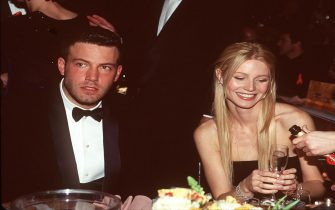 372563 02: Ben Affleck and Gwyneth Paltrow at the 1999 Golden Globe Awards January 24, 1999 in Los Angeles, CA. (Photo by Ron Wolfson/Online USA)
