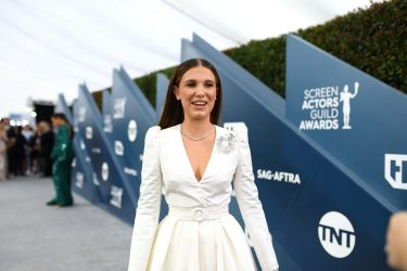 LOS ANGELES, CALIFORNIA - JANUARY 19: Millie Bobby Brown attends the 26th Annual Screen ActorsGuild Awards at The Shrine Auditorium on January 19, 2020 in Los Angeles, California. 721384 (Photo by Mike Coppola/Getty Images for Turner)
