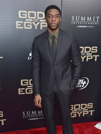 """attends the """"Gods Of Egypt"""" New York Premiere at AMC Loews Lincoln Square 13 on February 24, 2016 in New York City."""