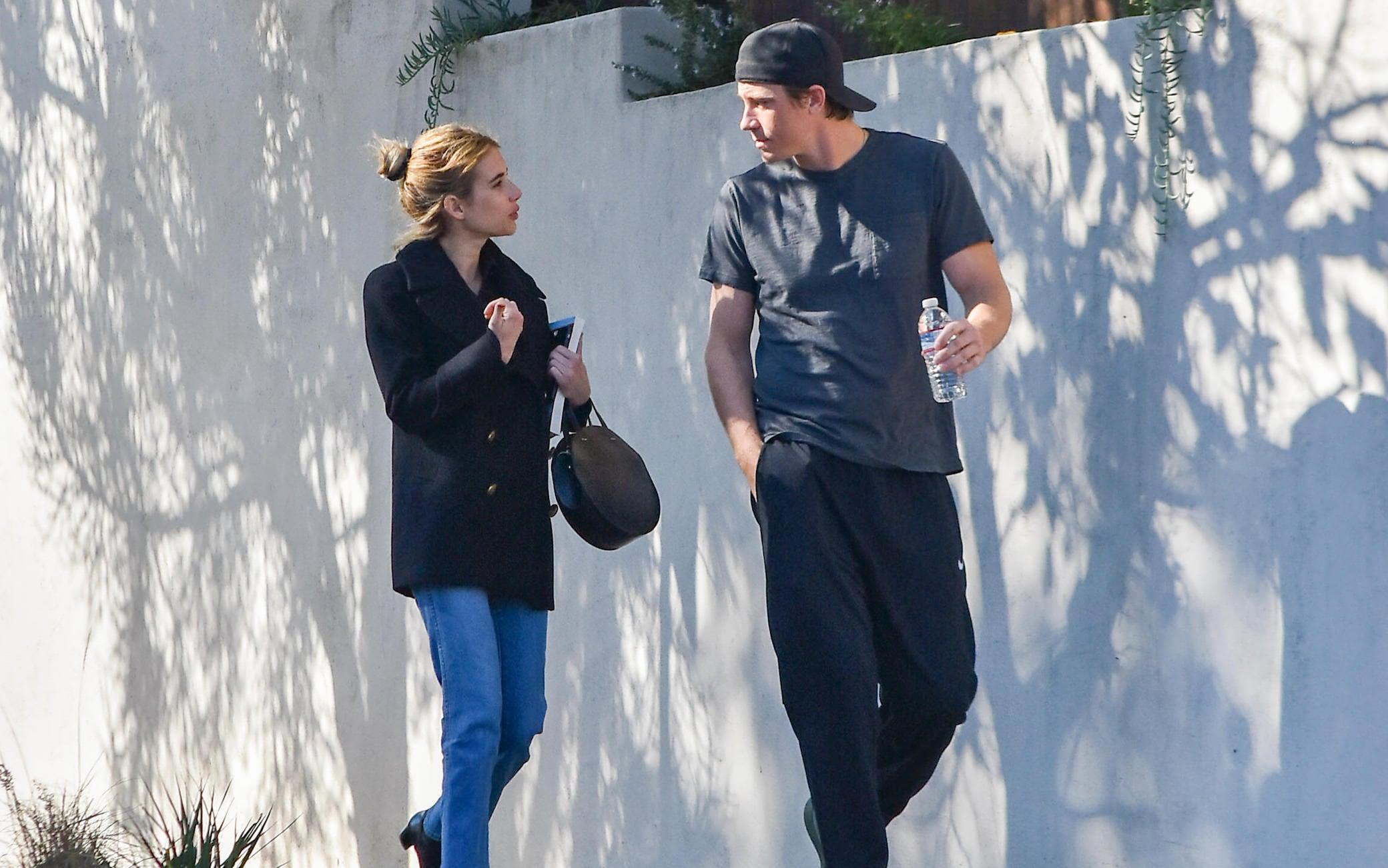 Emma Roberts e Garrett Hedlund
